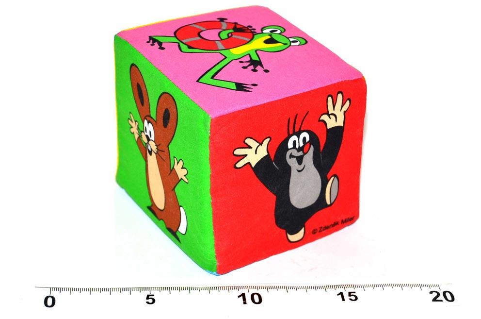 Textilná kocka Krtko W170915