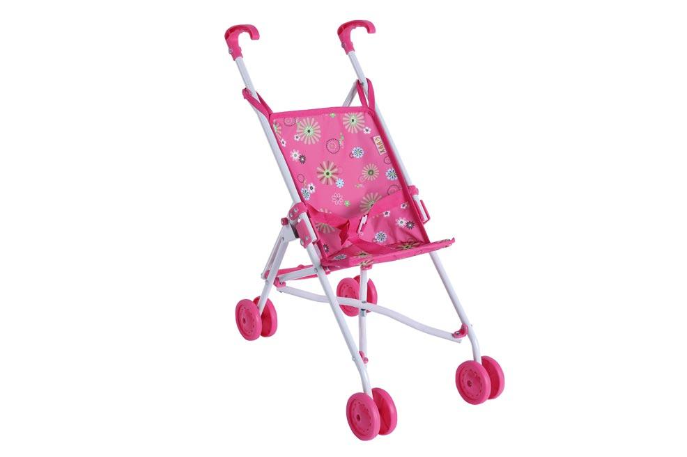 Kočiarik pre bábiky golfové palice kov/plast 27x55x52cm v sáčku