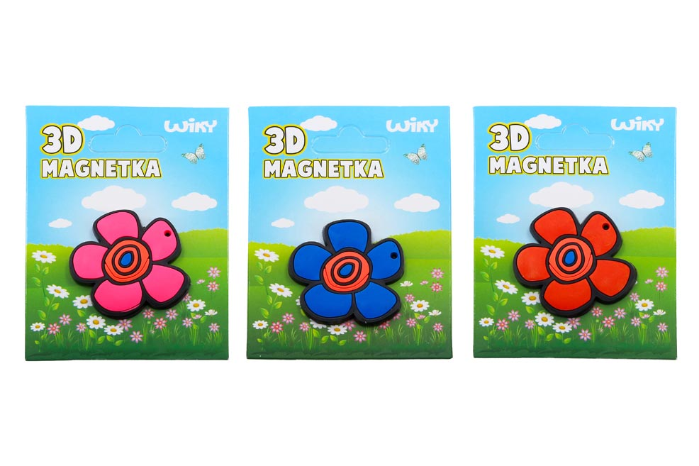 Magnet W010926 kvet