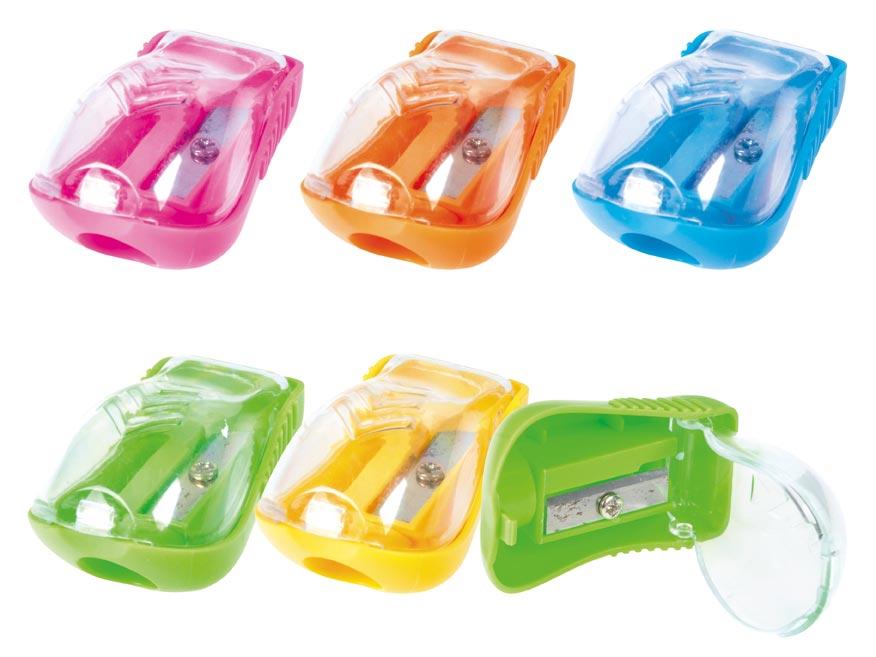 Strúhadlo plast so zásobníkom mix farieb