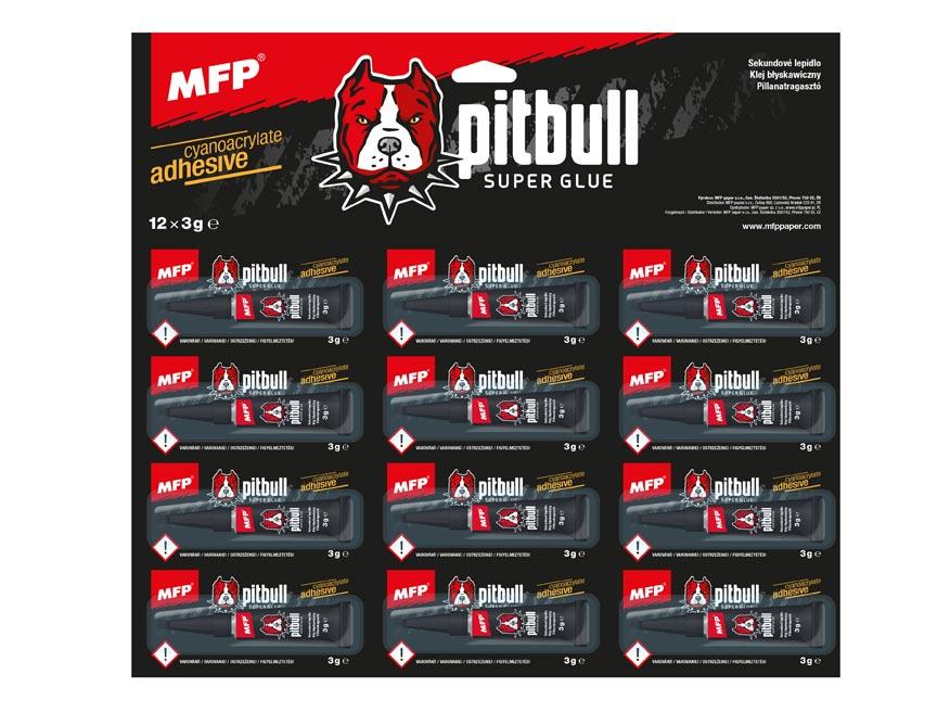 MFP 5050122 lepidlo Pitbull sekundové 3g
