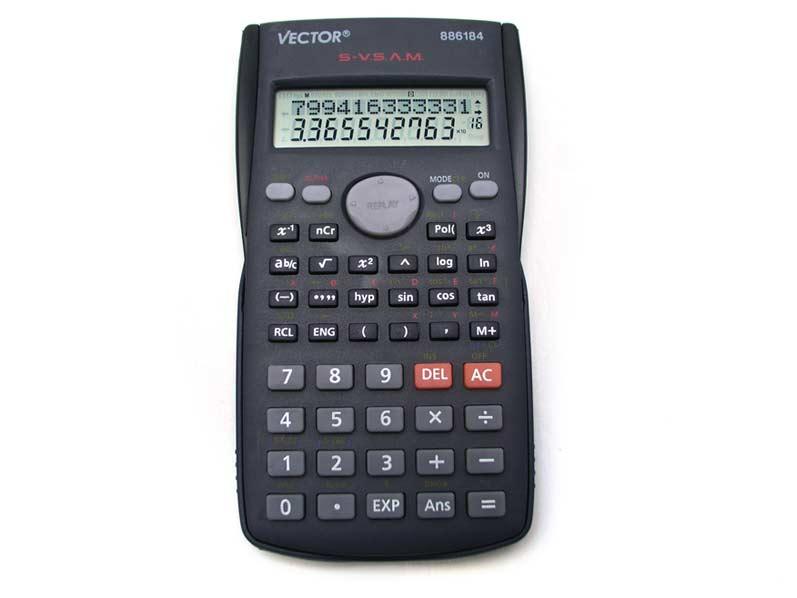 Kalkulačka 886184 vedecká 9x16cm