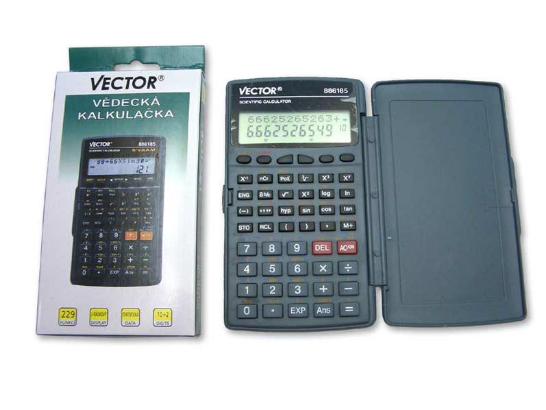 Kalkulačka 886185 vedecká 8x14cm