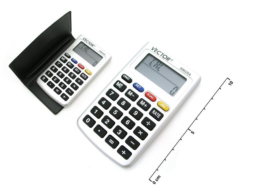 Kalkulačka 886204 6x9,5cm s prevodom