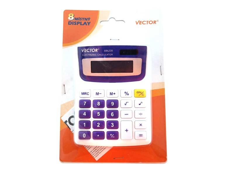Kalkulačka 886208 duálne napájanie