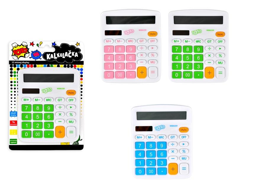 Kalkulačka 886200 farebná veľká