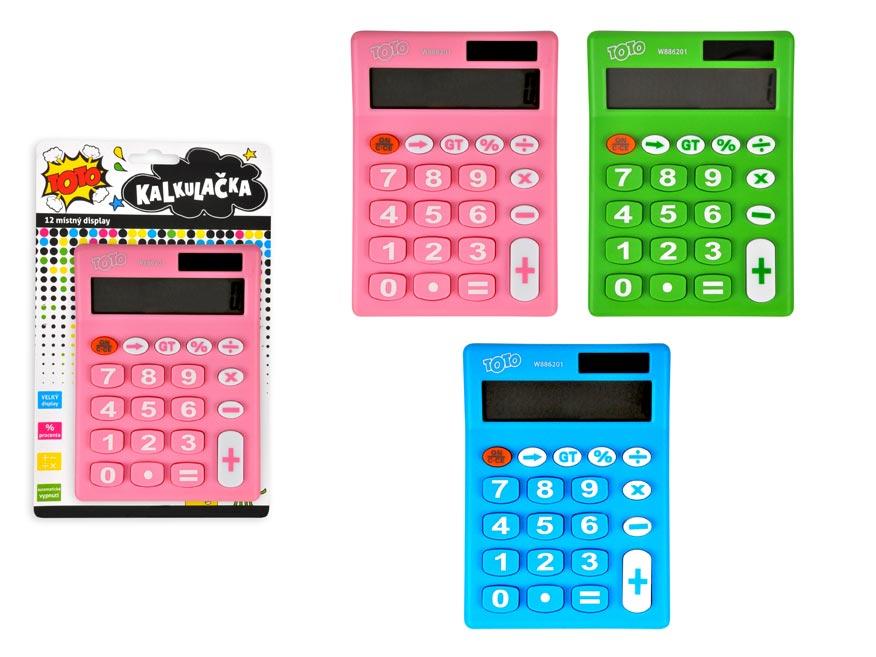 Kalkulačka 886201 farebná stredná