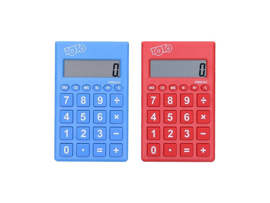 Kalkulačka W886202 farebná malá