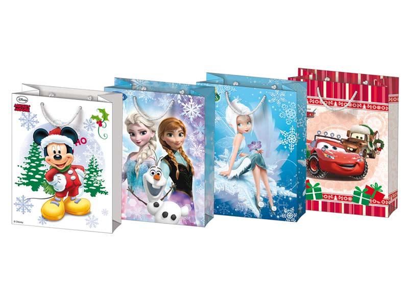 taška vianočná L Disney mix V1 (260x340x140) 5250905