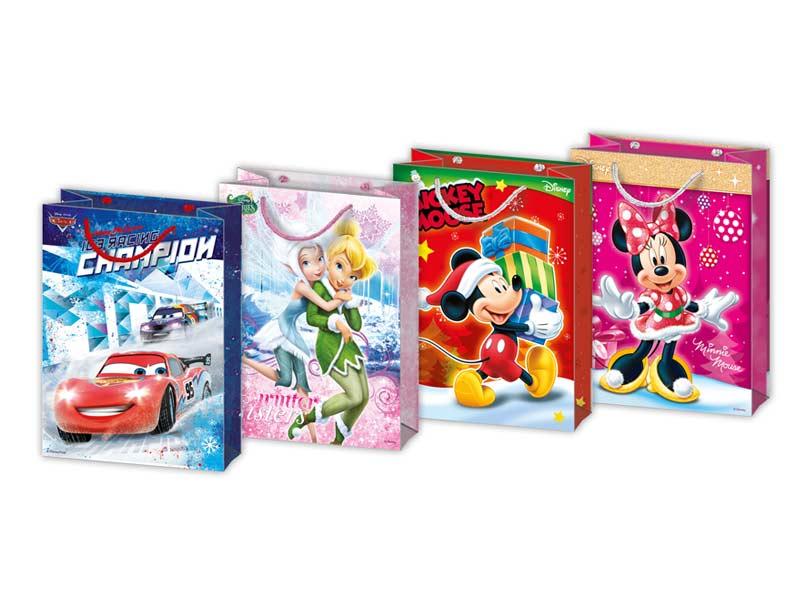taška vianočná M Disney mix V2 (190x250x90) 5250978