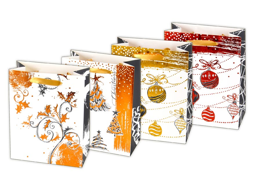 taška vianočná M LUX mix V3 (180x230x90) 5251026