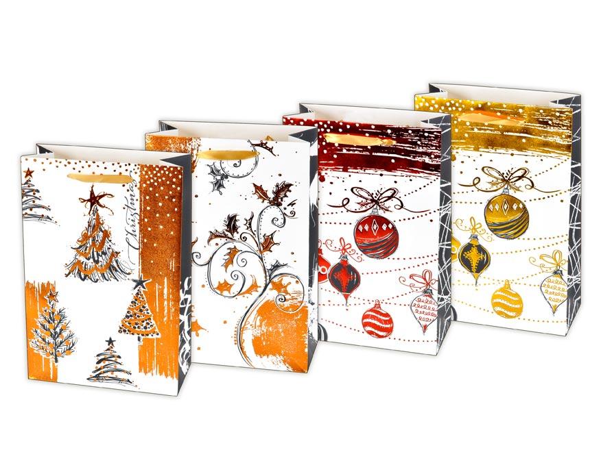 taška vianočná L LUX mix V3 (225x335x100) 5251027