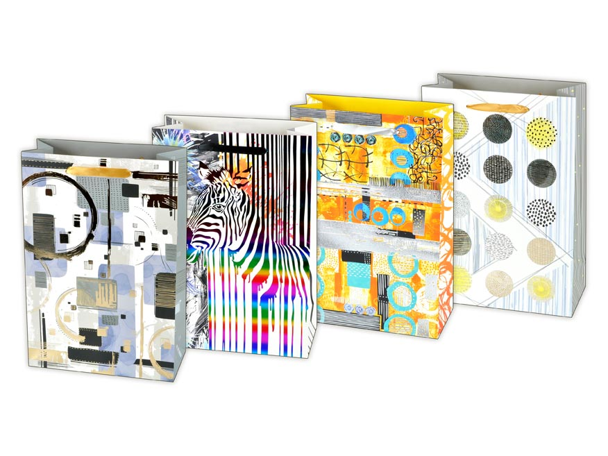 taška darčeková L LUX mix37 (225x335x100) 5251032