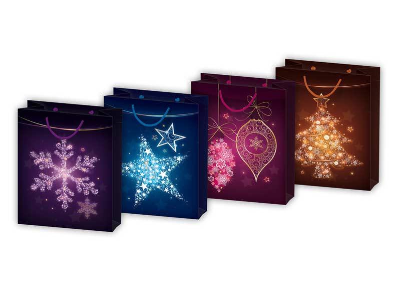 taška vianočná T 5 mixV25 260x320x135 5251040