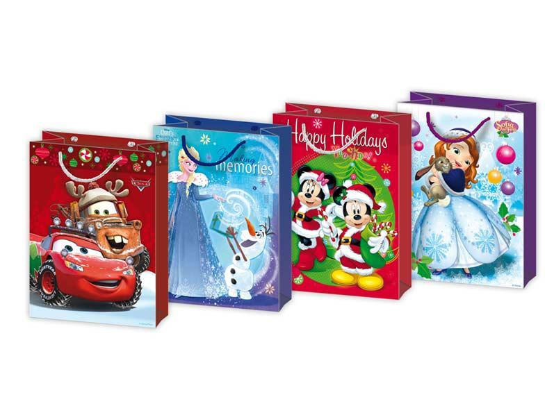 Taška MFP vianočná L Disney mix V3 (260x340x140)