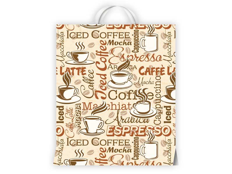 igelitová taška Káva 40x46x8 (s uchom) 5251046