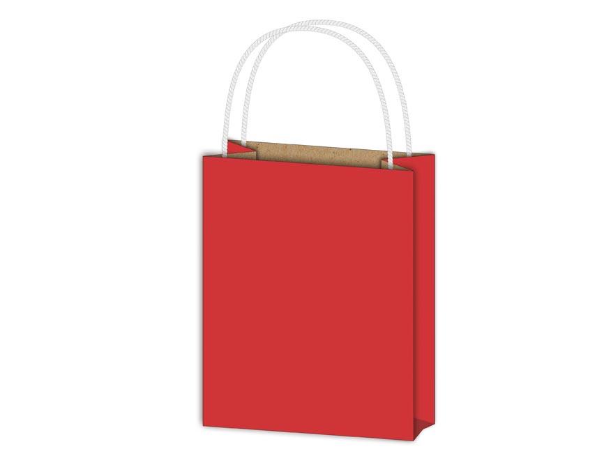 Taška MFP darčeková T1 kraft 114x146x64 červená