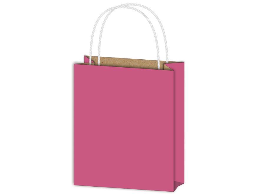 taška darčeková T4 kraft 180x230x100 fialová 5251081