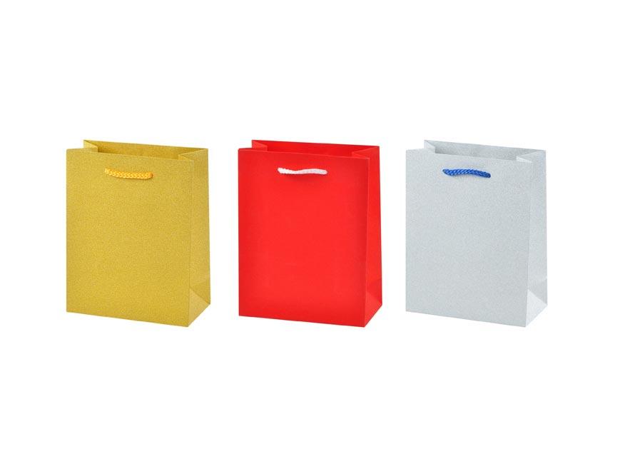 MFP 5251098 taška darčeková M gliter mix2 (180x230x90)