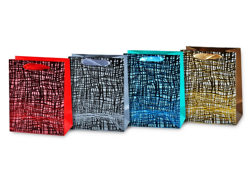 taška darčeková L LUX mix41 (260x320x120) 5251112