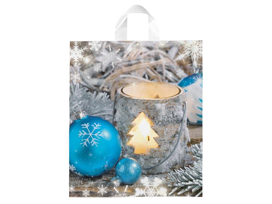 Igelitová vianočná taška vzor 3 40x46x8 (s uchom)