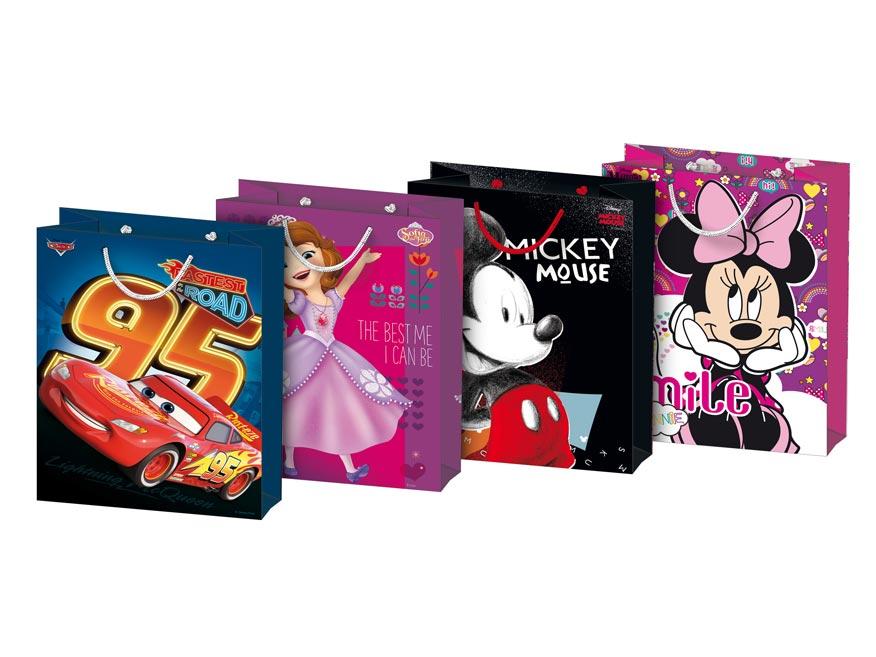taška darčeková M Disney mix 6 (190x250x90) 5251168