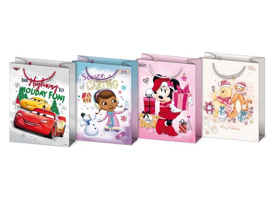Taška MFP vianočná L Disney mix V5 (260x340x140)