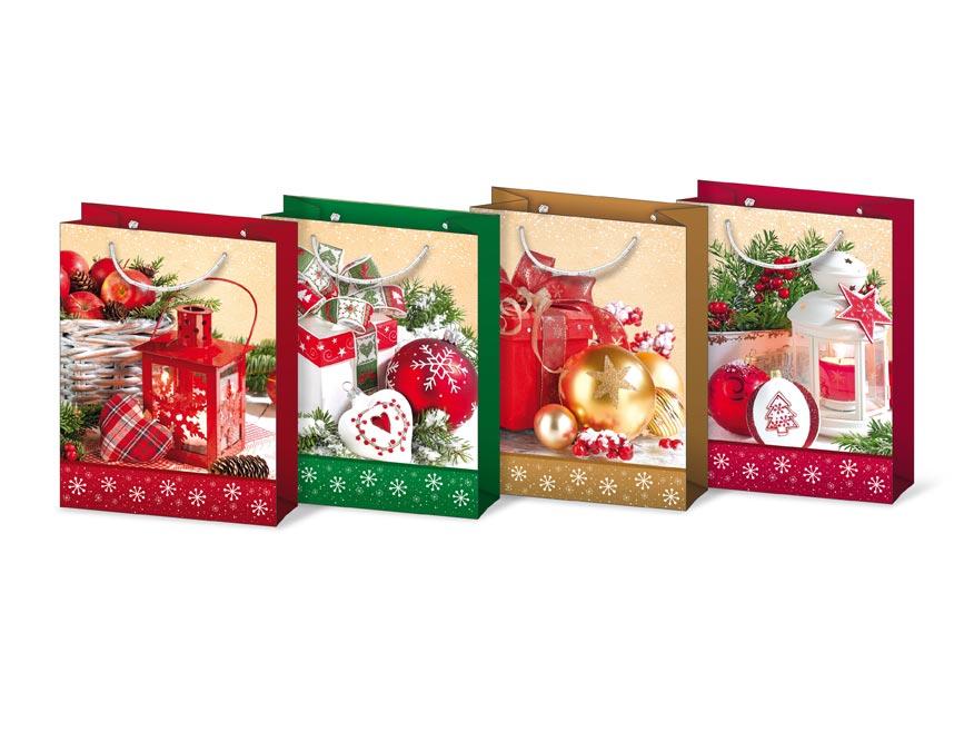 Taška MFP vianočná T 4 mix V26 190x250x90