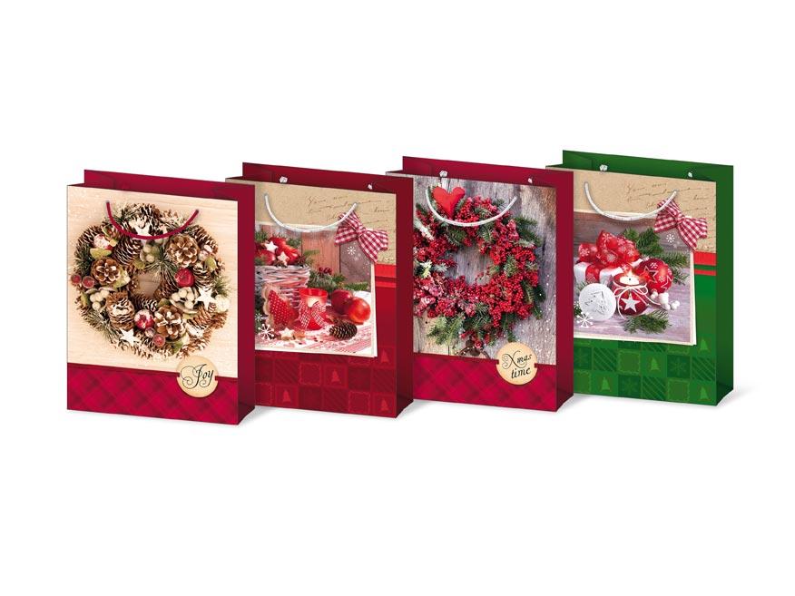 taška vianočná T 4 mix V27 190x250x90 5251184