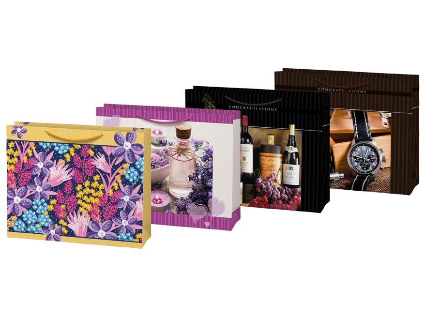 taška darčeková T 8 mix č.28 325x265x135 5251216