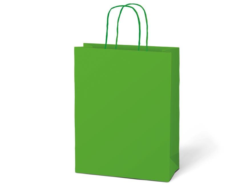 taška darčeková T5 kraft 260x320x100 zelená 5251226