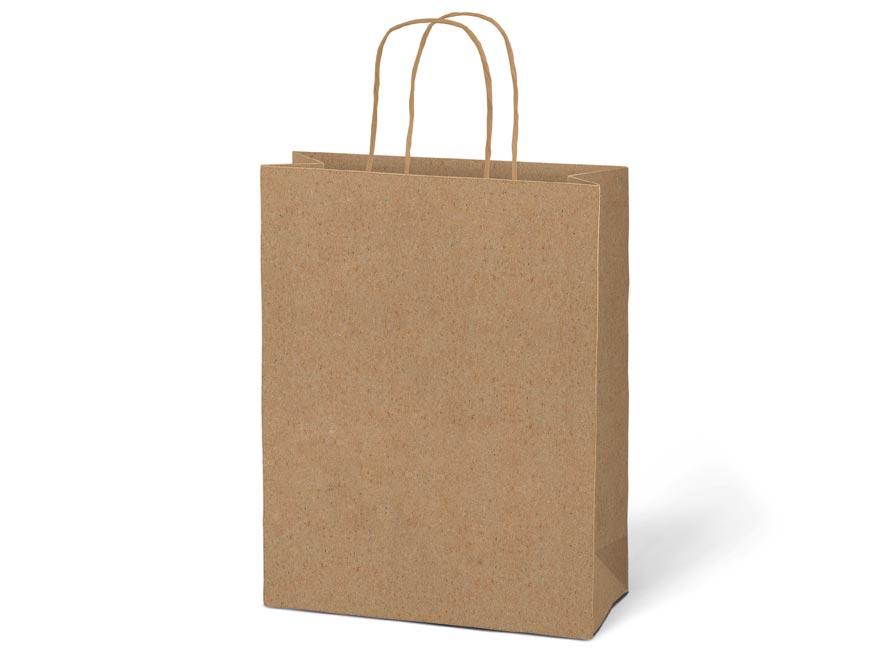 taška darčeková T5 kraft 260x320x100 natur 5251228