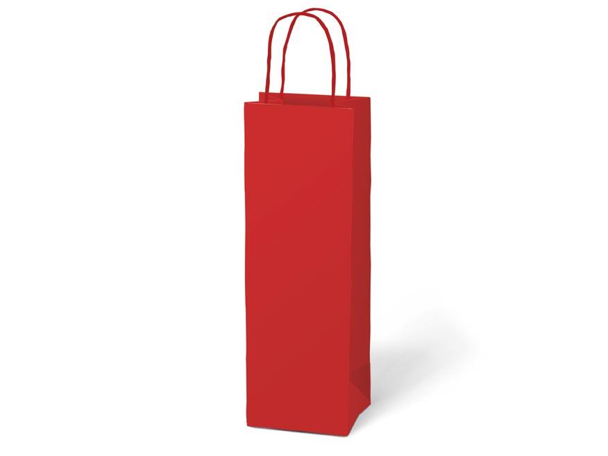 taška darčeková T12 kraft 120x360x90 červená 5251229