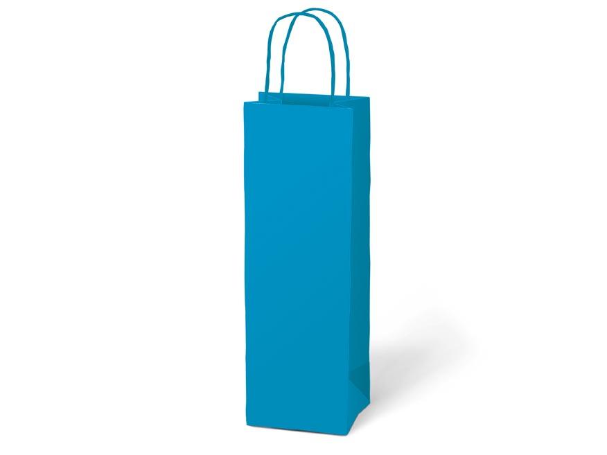 taška darčeková T12 kraft 120x360x90 modrá 5251230