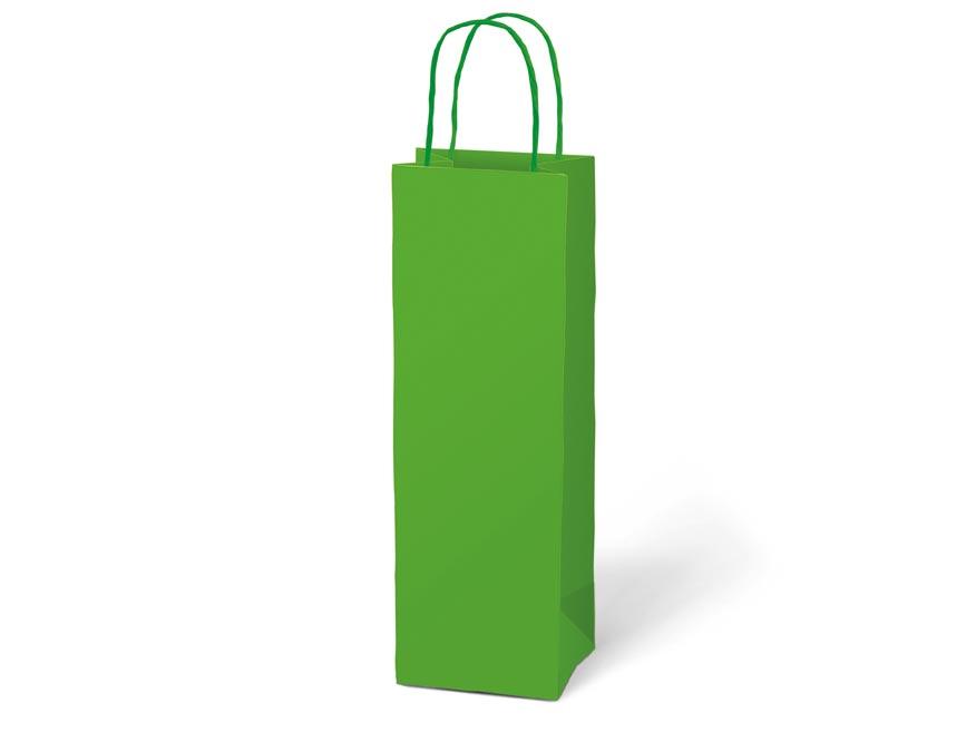 taška darčeková T12 kraft 120x360x90 zelená 5251231
