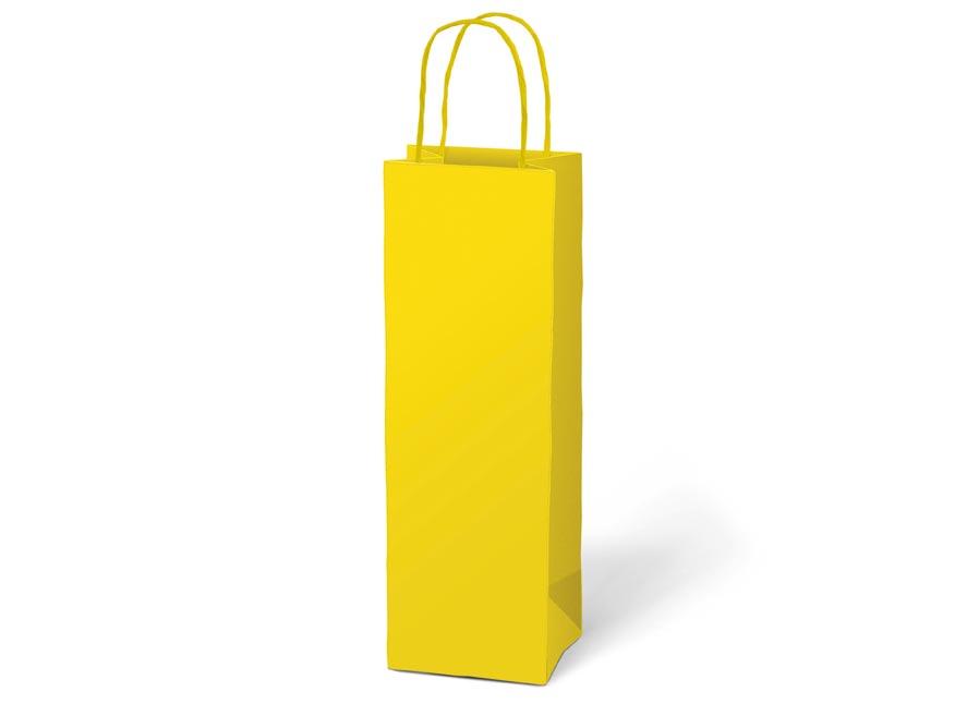 taška darčeková T12 kraft 120x360x90 žltá 5251232