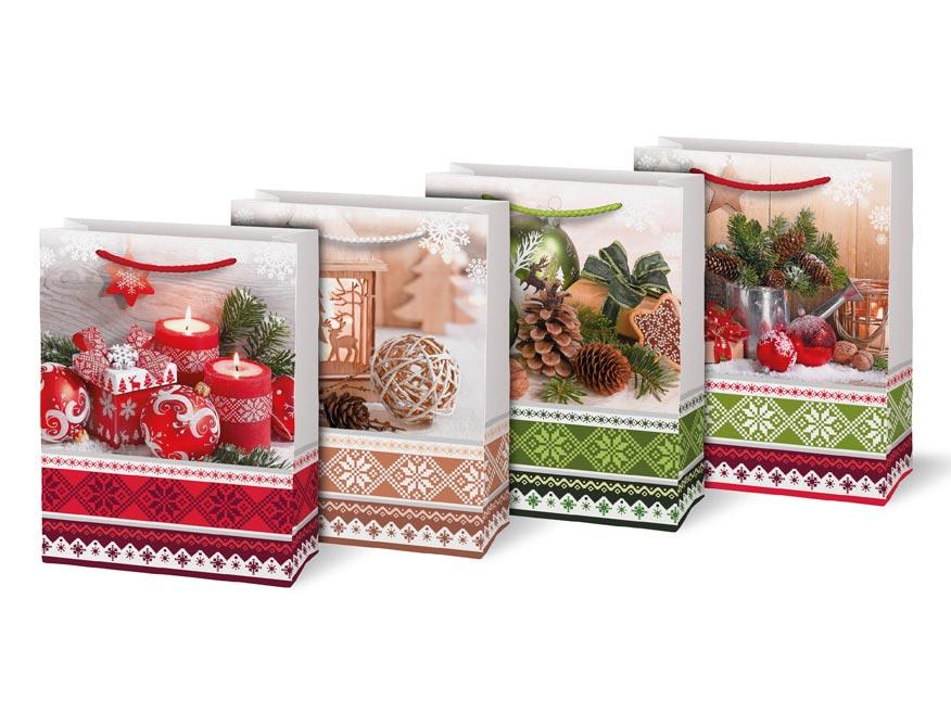 taška vianočná T 4 mix V29 190x250x90 5251253