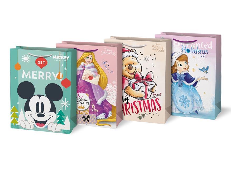 taška vianočná L Disney mix V6 (260x340x140) 5251260