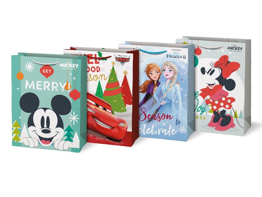 taška vianočná XL Disney mix V2 (330x450x140) 5251261