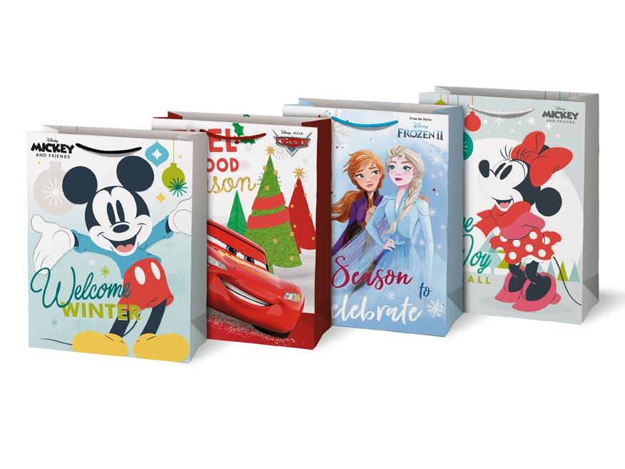 taška vianočná L Disney mix V7 (260x340x140) 5251263