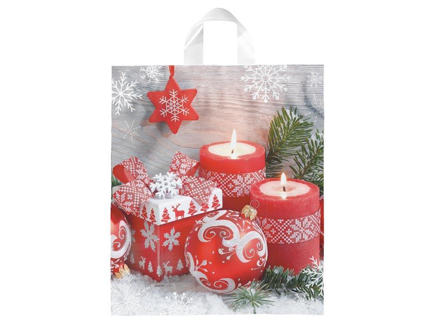 igelitová vianočná taška vzor 4 39x46x8 (s uchom) 5251266