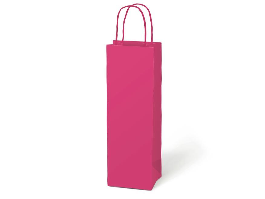 taška darčeková T12 kraft 120x360x90 růžová 5251300
