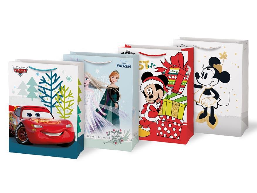 taška vianočná L Disney mix V8 (260x340x140) 5251312