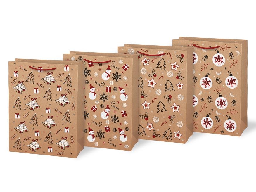 taška vianočná L LUX mix V5 (260x340x140) 5251314