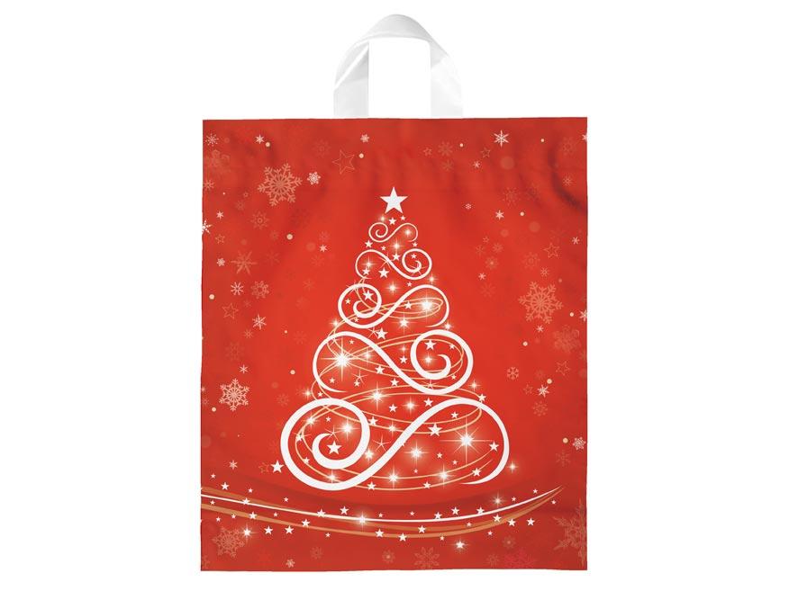 igelitová vianočná taška  vzor 5 39x46x8 (s uchom) 5251319