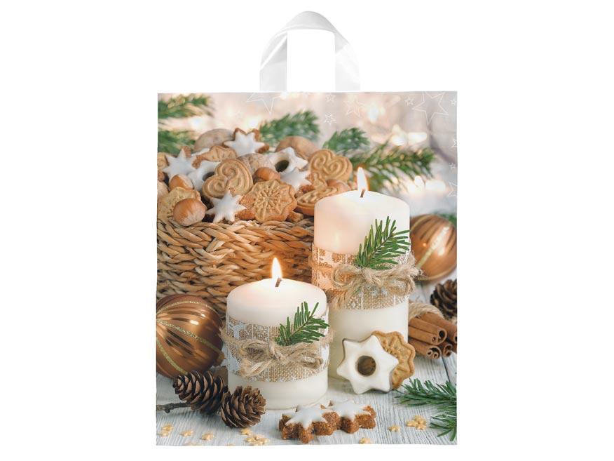 igelitová vianočná taška  vzor 6 39x46x8 (s uchom) 5251320