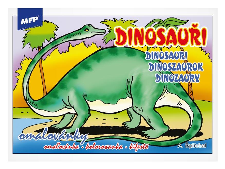 Omaľovánky MFP Dinosauri