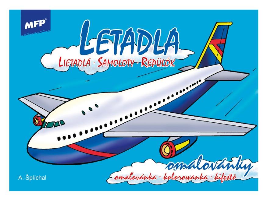 Omaľovánky MFP Lietadlá