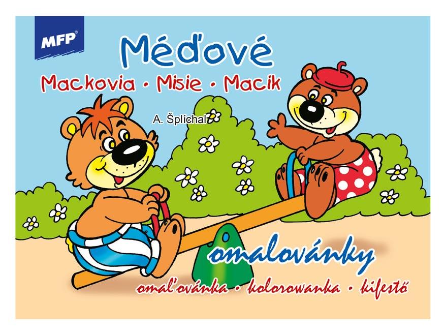 Omaľovánky MFP Medvede
