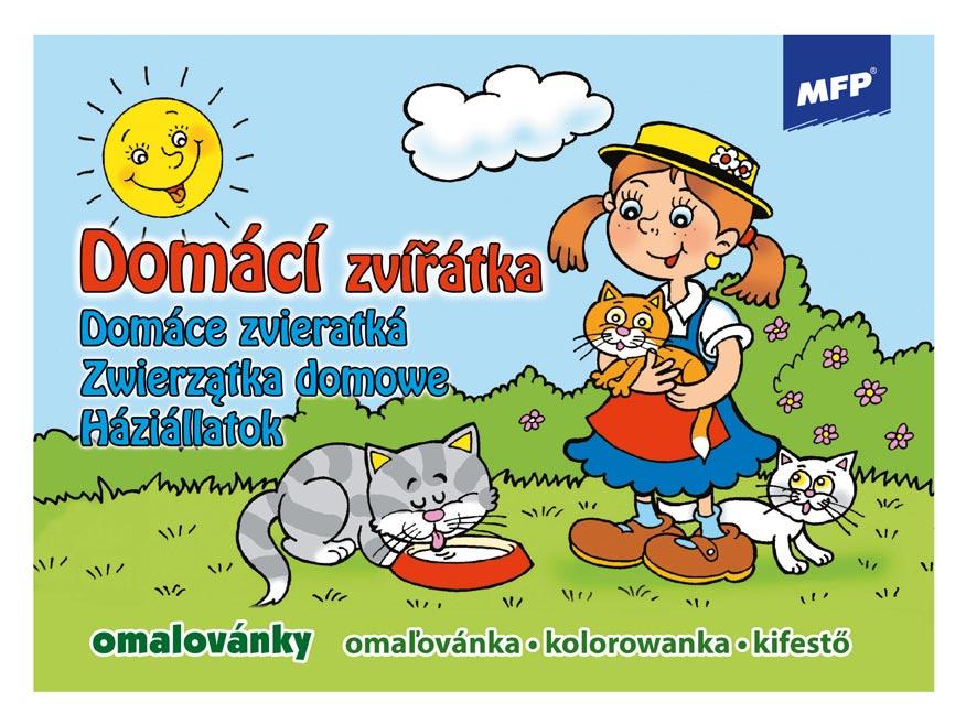 Omaľovánky MFP Domáce zvieratká/